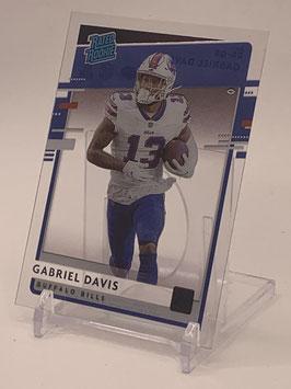 Gabriel Davis (Bills) 2020 Panini Chronicles Rated Rookie #RR-GD