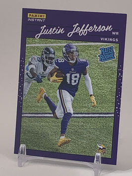 Justin Jefferson (Vikings) 2020 Panini Instant Rated Rookie #RR9