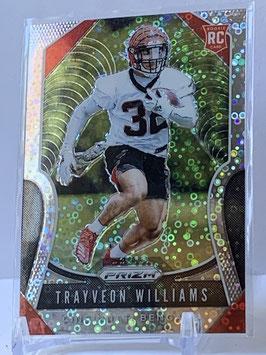 Trayveon Williams (Bengals) 2019 Prizm Disco Prizm #329