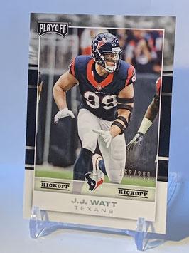 JJ Watt (Texans) 2017 Playoff Kickoff #33