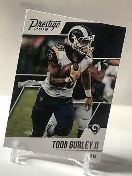 Todd Gurley (Rams) 2018 Prestige #183