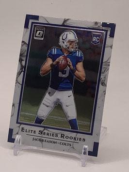 Jacob Eason (Colts) 2020 Donruss Optic Elite Series #ESR-JE