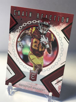 Deontay Burnett (USC/ Titans) 2018 Panini Elite Draft Picks Chain Reaction #10