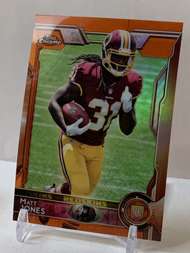 Matt Jones (Redskins) 2015 Topps Chrome Orange Refractor #153