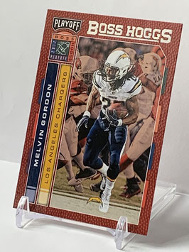 Melvin Gordon (Chargers) 2017 Playoff Boss Hoggs #10