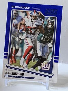 Sterling Shepard (Giants) 2018 Score Showcase Blue #230