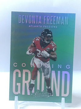Devonta Freeman (Falcons) 2018 Absolute Covering Ground #CG-DF