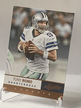 Tony Romo (Cowboys) 2012 Absolute #82