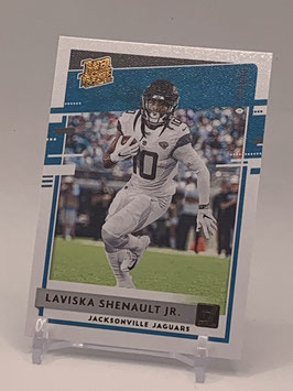 Laviska Shenault (Jaguars) 2020 Donruss Rated Rookie Canvas Bronze #318