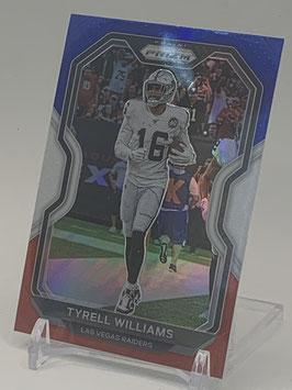 Tyrell Williams (Raiders) 2020 Prizm Red White Blue Prizm #133