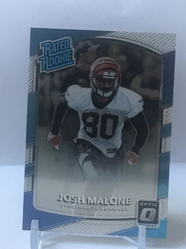 Josh Malone (Bengals) 2017 Donruss Optic Rated Rookies #171