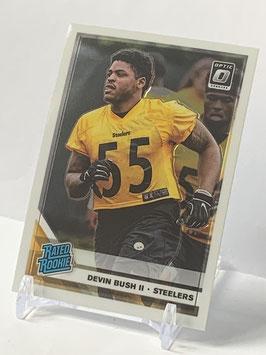 Devin Bush II (Steelers) 2019 Donruss Optic Rated Rookie #186