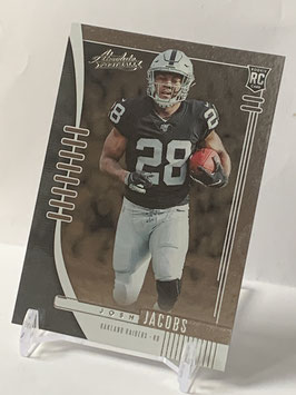 Josh Jacobs (Raiders) 2019 Absolute #124