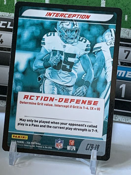 Action Defense: Leighton Vander Esch (Cowboys) 2019 Panini Five TCG #C79