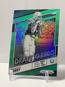 Raymond Berry (Colts) 2016 Prizm Draft Gems Silver Green Prizm #6