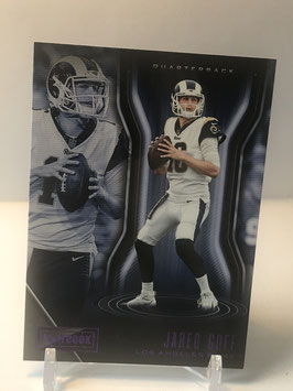 Jared Goff (Rams) 2018 Panini Playbook Purple #89