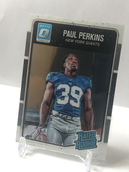 Paul Perkins (Giants) 2016 Donruss Optic Rated Rookies #382