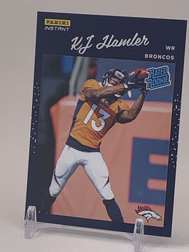 KJ Hamler (Broncos) 2020 Panini Instant Rated Rookie #RR19