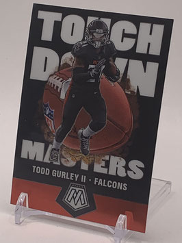 Todd Gurley (Falcons) 2020 Mosaic Touchdown Masters #TM7