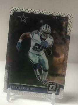 Ezekiel Elliott (Cowboys) 2017 Donruss Optic #49