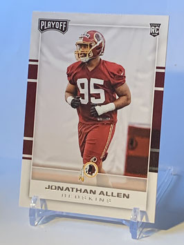Jonathan Allen (Redskins) 2017 Playoff #250