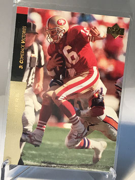 Joe Montana (49ers) 1995 Upper Deck Joe Montana Box Set #36