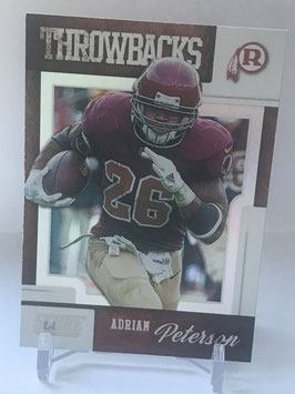 Adrian Peterson (Redskins) 2019 Score Throwbacks #T-12