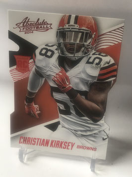 Christian Kirksey (Browns) 2014 Panini Absolute Retail Red #116