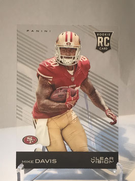Mike Davis (49ers) 2015 Clear Vision #138