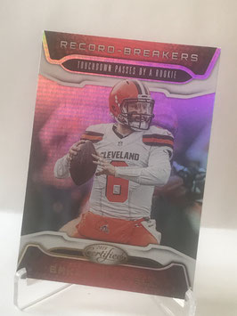 Baker Mayfield (Browns) 2019 Certified Record Breakers #RB-BM