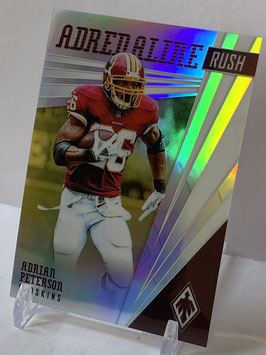 Adrian Peterson (Redskins) 2019 Phoenix Adrenaline Rush Yellow #13