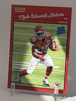 Clyde Edwards-Helaire (Chiefs) 2020 Panini Instant Rated Rookie #RR12