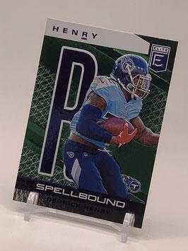 """Derrick Henry (Titans) 2020 Elite Spellbound """"R"""" Green #24"""