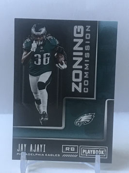 Jay Ajayi (Eagles) 2018 Playbook Zoning Commision #12