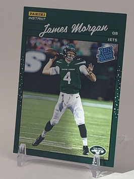 James Morgan (Jets) 2020 Panini Instant Rated Rookie #RR38