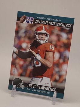 Trevor Lawrence (Clemson/ Jaguars) 2021 Leaf Pro Set Draft Day #PSDD1