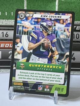 Kirk Cousins (Vikings) 2019 FIVE TCG #U109