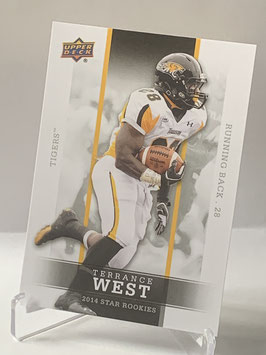 Terrance West ( Towson/ Browns) 2014 Upper Deck Star Rookies #32