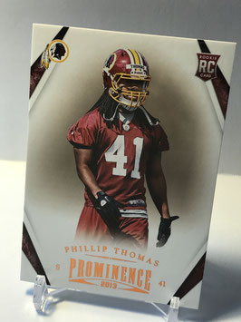 Phillip Thomas (Redskins) 2013 Panini Prominence #174