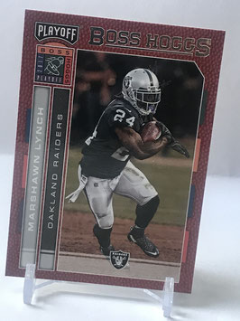 Marshawn Lynch (Raiders) 2017 Playoff Boss Hoggs #9