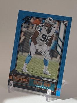 Derrick Brown (Panthers) 2020 Playbook Bronze #144
