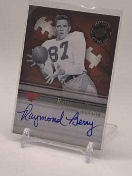 Raymond Berry (SMU/ Colts) 2008 Press Pass Legends Bowl Edition Semester Signatures Autograph #SS-RB