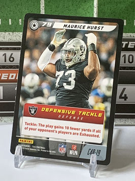 Maurice Hurst (Raiders) 2019 FIVE TCG C48