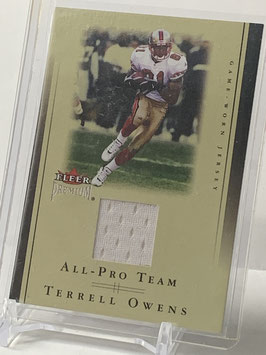 Terrell Owens (49ers) 2002 Fleer Premium All Pro Team Jersey #Nno