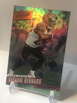 Giovani Bernard (Bengals) 2017 Prestige Xtra Points Blue #155