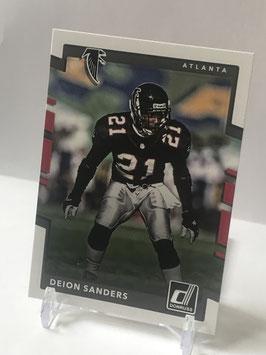 Deion Sanders (Falcons) 2017 Donruss #123