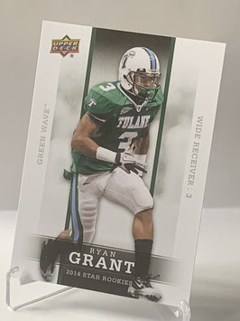 Ryan Grant (Tulane/ Redskins) 2014 Upper Deck Star Rookies #34