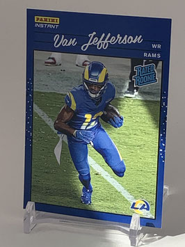 Van Jefferson (Rams) 2020 Panini Instant Rated Rookie #RR24