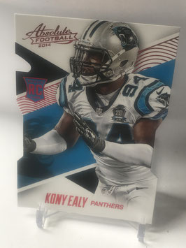 Kony Ealy (Panthers) 2014 Panini Absolute Retail Red #121