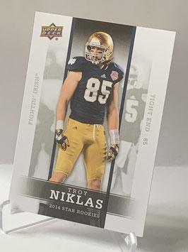 Troy Niklas (Notre Dame/ Cardinals) 2014 Upper Deck Star Rookies #13